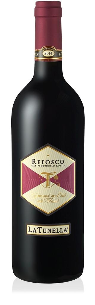 La Tunella Refosco Dal Peduncolo Friuli, 2016, Rode Wijn