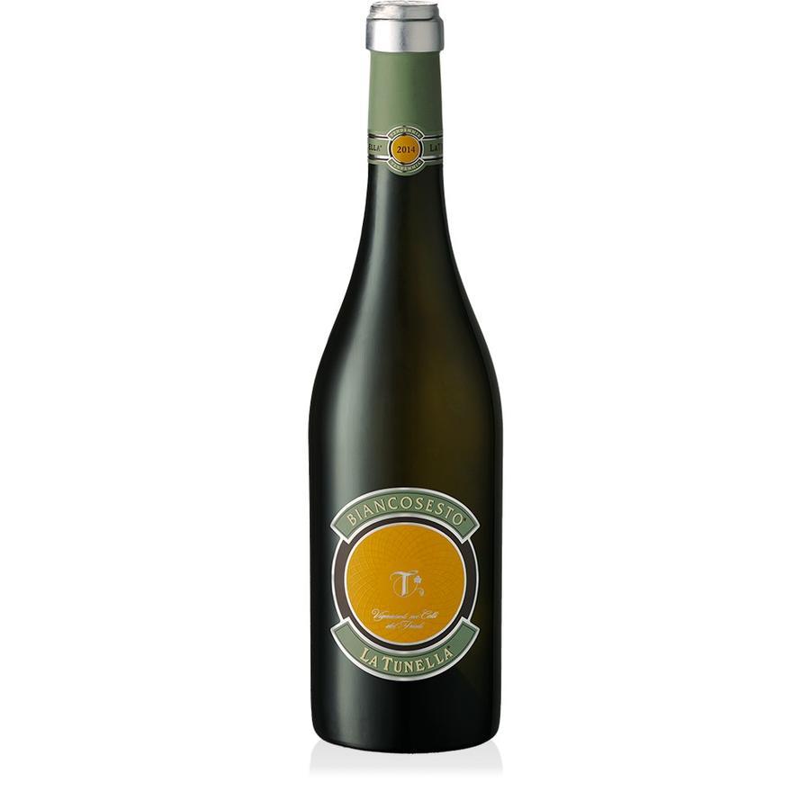 La Tunella Biancosesto 2018, Friuli, Bianco Friulano Ribolla Gialla, Friuli Colli Orientali Italië, Witte Wijn