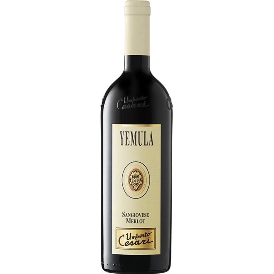 Umberto Cesari Yemula Rubicone, 2017, Sangiovese Merlot, Romagna, Emilia, Italië, Rode Wijn