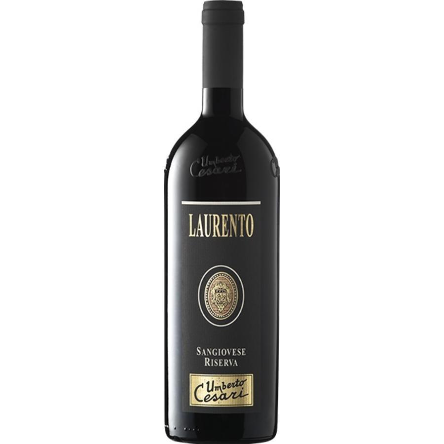 Umberto Cesari Laurento Sangiovese DOP Riserva, 2017, Sangiovese Cabernet Sauvignon, Romagna, Emilia, Italië, Rode Wijn