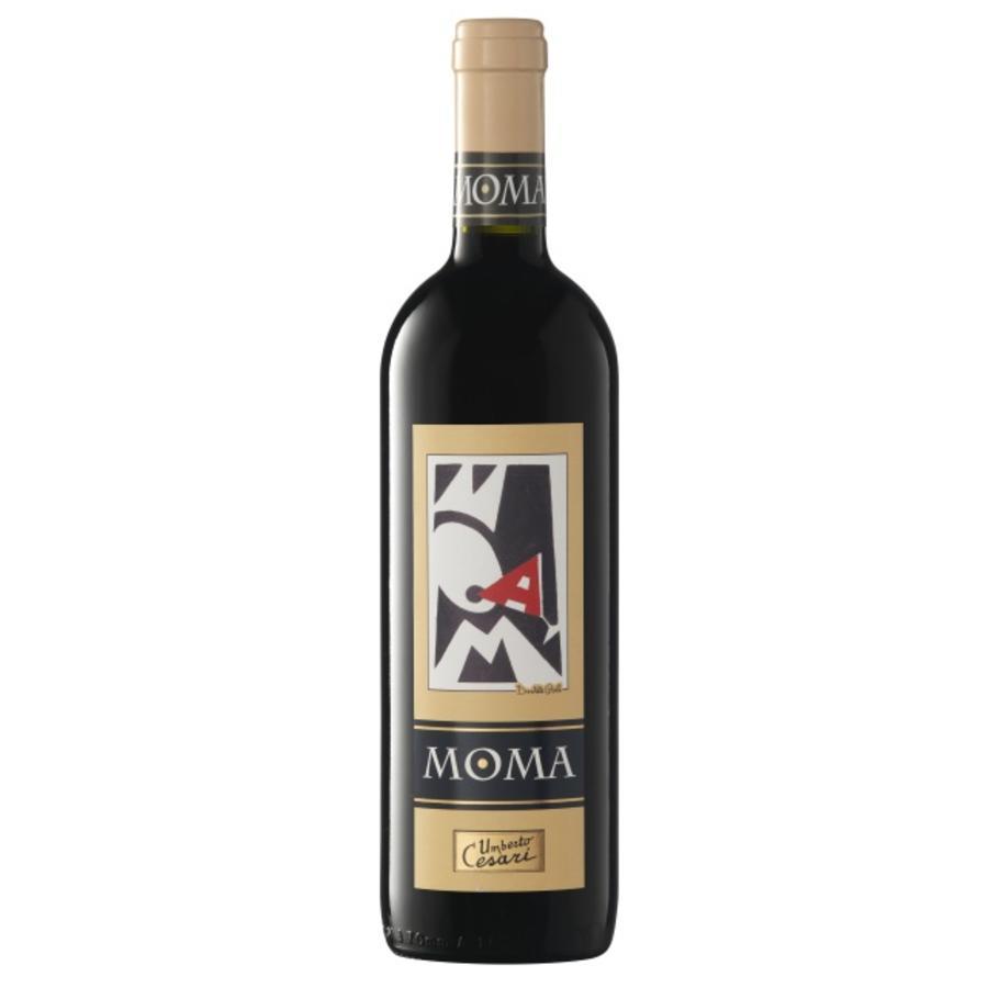 Umberto Cesari Moma Rubicone, 2018, Romagna, Emilia, Italië, Rode Wijn