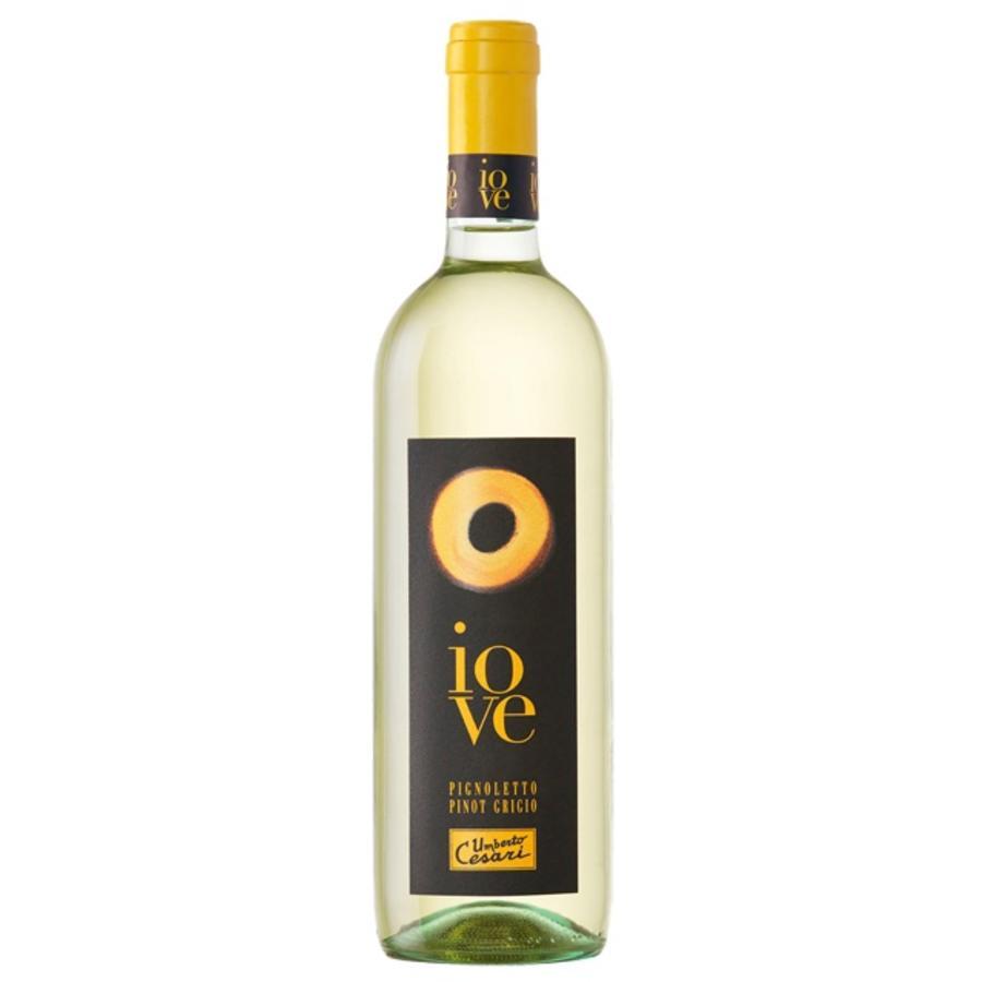 Umberto Cesari Iove Rubicone 2019, Chardonnay Pinot Gris, Romagna, Emilia, Italië, Witte Wijn