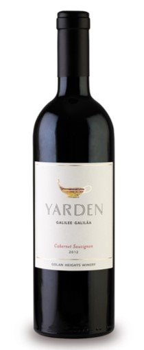 Golan Heights Winery Yarden Cabernet Sauvignon, 2017, Made in the Golan Heights, Israeli settlements