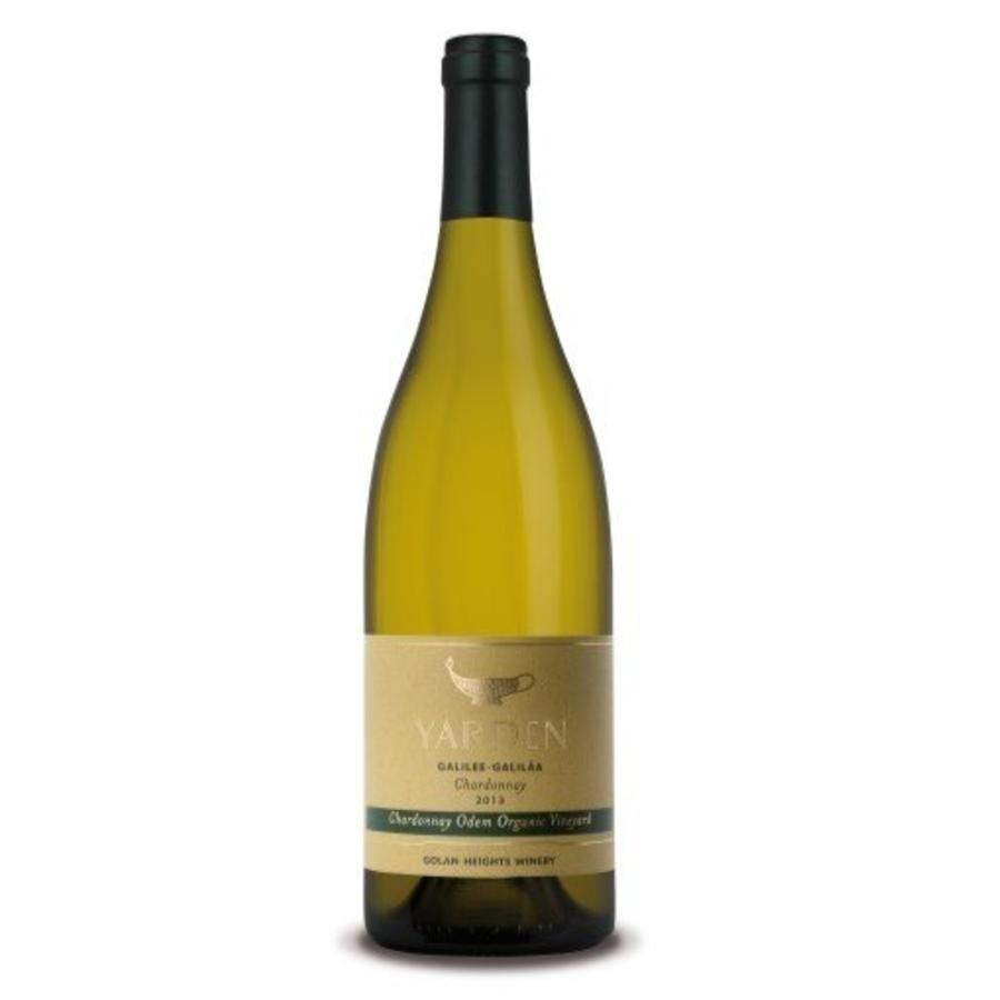 Golan Heights Winery Yarden Odem Chardonnay, 2018, Made in the Golan Heights, Israeli settlements