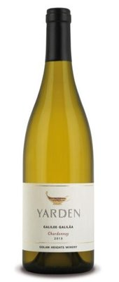 Yarden Chardonnay Galilee, 2018, Made in the Golan Heights, Israeli settlements