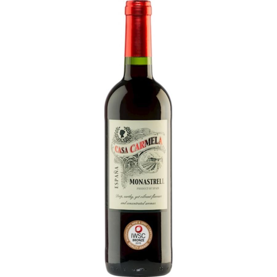 Bodegas del Mediterraneo, Casa Carmela Monastrell Barrica, 2015, Murcia, Spanje, Rode Wijn