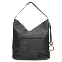 DAVID JONES Schoudertas black/grey
