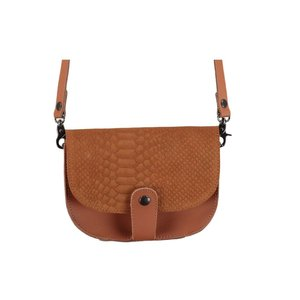ELVY Kylie Small Saddlebag Cognac
