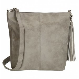 BEAGLES schoudertas licht grijs