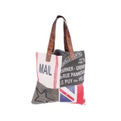 "Canvas Vintage Shopper XL ""Flag"""