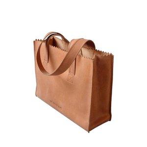 MYOMY My Paper Bag Handbag blond met rits