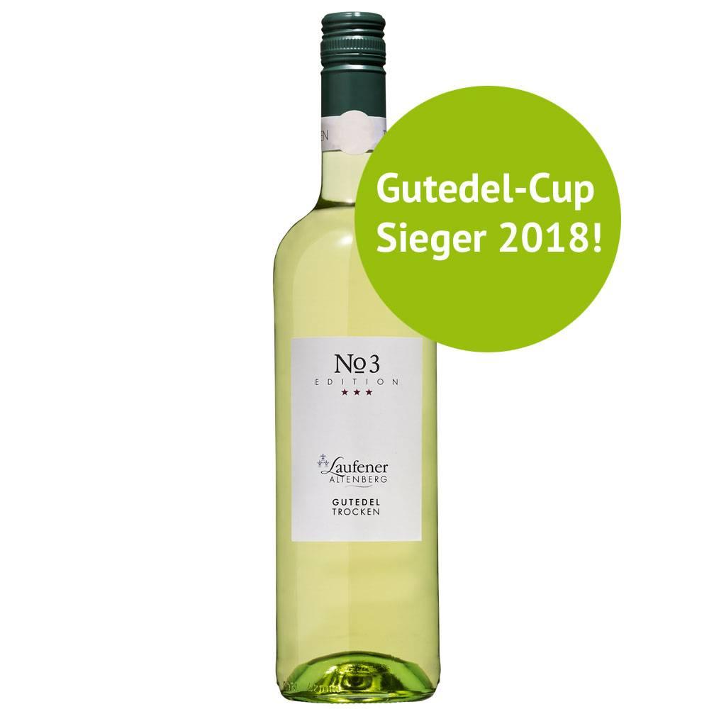 Winzerkeller Laufener Altenberg Gutedel Kabinett trocken 2017 EDITION   »No. 3«  GUTEDELCUP Sieger 2018 - Laufener Altenberg