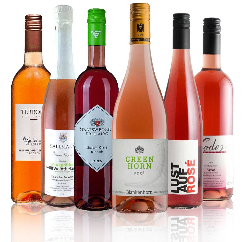 Rosé Sommerwein Sixpack - Unsere Sommer-Rosé Favoriten 2018