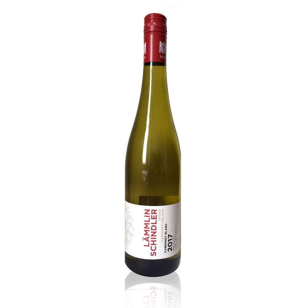 """Weingut Lämmlin-Schindler Cabernet Blanc  trocken 2017 VDP.ORTSWEIN """"Großes Gold 96 Pt. internaionaler bioweinpreis 2018 - Weingut Lämmlin Schindler"""