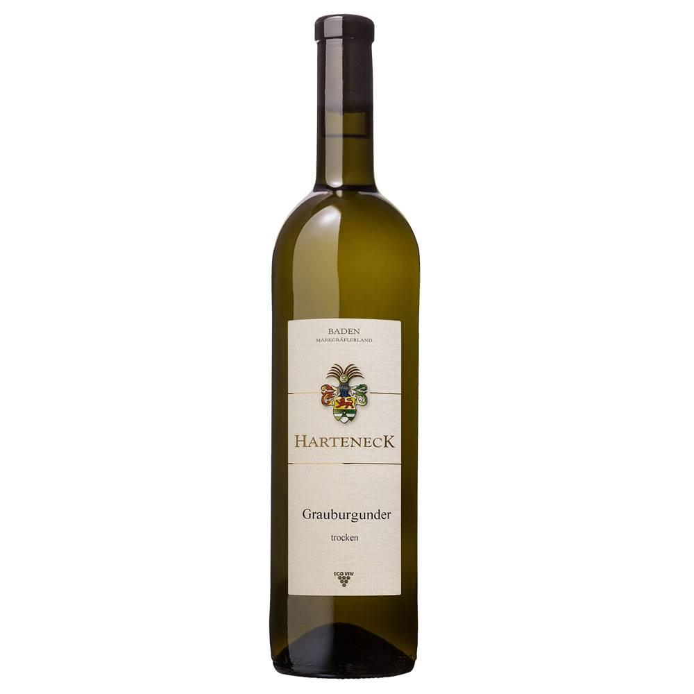 """Wein- und Sektgut Harteneck Grauburgunder trocken 2017 """"klassisch""""  - Weingut Harteneck"""