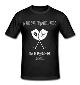 "WINE MAIDEN - Run to the  Gutedel ""T-Shirt"""