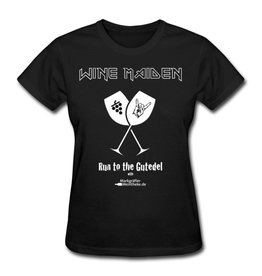 "WINE MAIDEN - Run to the  Gutedel ""Girlie-Shirt"""