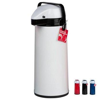Isoleerkan met druktoets en schenktuit 1.9 liter