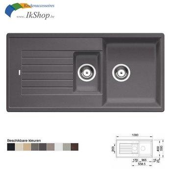 Blanco Wasbak keuken ZIA 6S Silgranit. Manueel of Automatisch openen