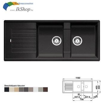 Blanco Wasbak keuken ZIA 8S Silgranit Manueel of Automatisch openen