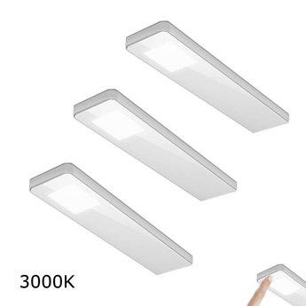 Keukenverlichting onderbouwKey-Panel Set van 3 x 5,0 Watt - 3000K