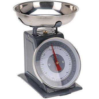 Keukenweegschaal 5kg, Nostalgische uitvoering