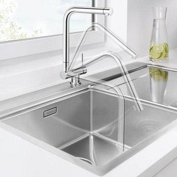 Kraan keuken Blanco Laressa-F Raamoplossing