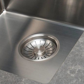 Caressi Spoelbak keuken RVS CA16R10