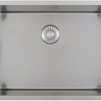 Caressi Wasbak keuken RVS CAPP50D37R10