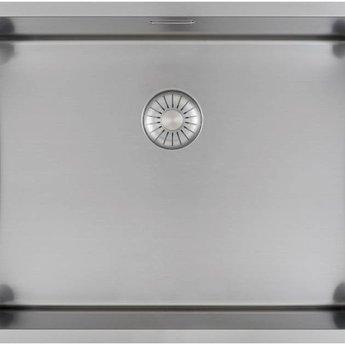 Caressi Wasbak keuken RVS Extra CAPP55D46R10