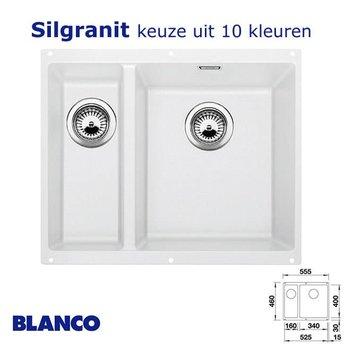 Spoelbak keuken Blanco Subline 340/160 U Silgranit onderbouw