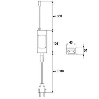 LED Trafo-transformator 30W