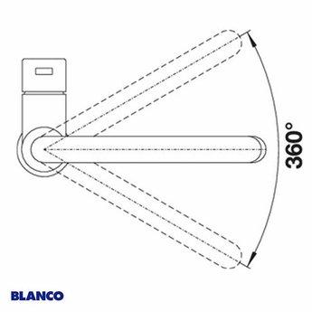 Keukenkraan BLANCO CANDOR RVS geborsteld