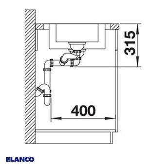 Spoelbak keuken BLANCO DINAS 6S - 523375