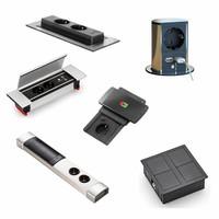 Stopcontacten voor keuken en bureau, inbouw en opbouw stopcontacten