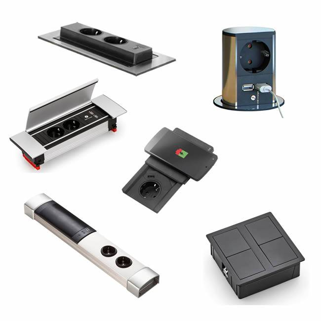 Super Stopcontacten voor keuken en bureau - IkShop QS-51