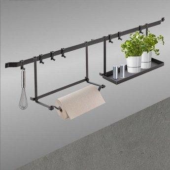 Relingsysteem keuken industriële look Cast