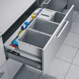 Inbouw afvalemmerHailo separato K90 - 52 Liter