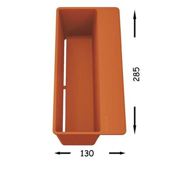 Blanco Spoelbak Blanco SITY XL 6 S - Rock grey- Orange