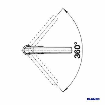 Blanco Keukenkraan BLANCO AVONA-S Chroom
