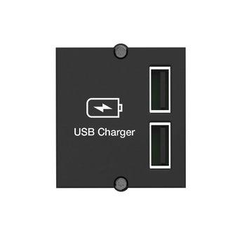 USB Stopcontact Inbouw Bachmann Pix