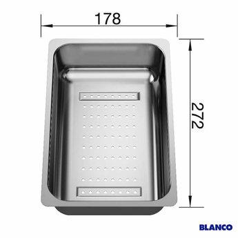 Blanco Inzetbakje in rvs 220736