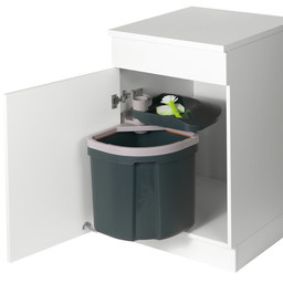 Inbouw vuilnisbak Müllex Euro Flex 35 L.