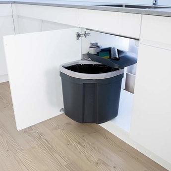 Inbouw vuilnisbak Müllex Euro Flex 35 Liter