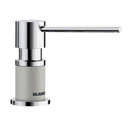 Zeepdispenser Blanco Lato 525818 chroom/parelgrijs