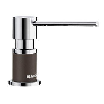 Zeepdispenser Blanco Lato 525815 chroom/café