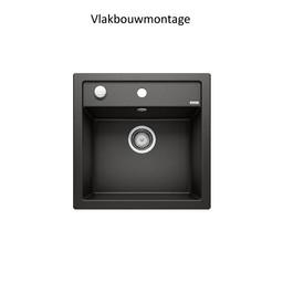 Zwarte Spoelbak Blanco DALAGO 5 F-525872-Auto-Black line