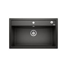 Zwarte Spoelbak Blanco DALAGO 8-525877-Auto-Black line