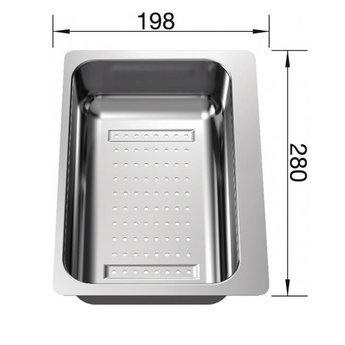 Blanco Inzetbakje in RVS 217796, voor BLANCO METRA 6 S