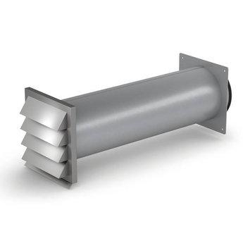 Afzuigkap Muurdoorvoer Klima Compair Steel flow